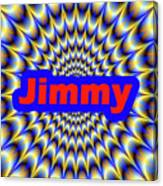 Jimmy Canvas Print