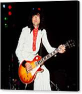 Jimmy Page Of Led Zeppelin Canvas Print