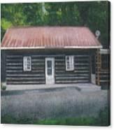 Jims Cabin Canvas Print