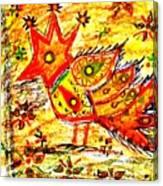 Jinga Bird II - Jinga Bird Series Canvas Print