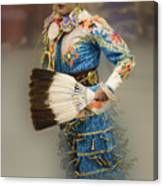 Pow Wow Jingle Dancer 7 Canvas Print