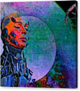 Jive Bot/robotics And Consciousness/she Had Left Her Robotic Body/ Canvas Print