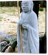 Jizo Bodhisattva - Children's Protector Canvas Print