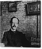 J.j. Thomson, English Physicist Canvas Print
