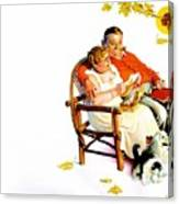 Jlm-norman Rockwell 28 Norman Rockwell Canvas Print
