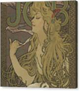 Job, 1896 Canvas Print