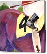Jockey 4 Canvas Print