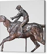Jockey With Cap Canvas Print