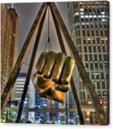 Joe Louis Fist Detroit MI Canvas Print