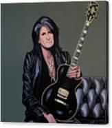 Joe Perry Of Aerosmith Painting Canvas Print