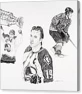 Joe Sakic Canvas Print