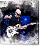 Joe Satriani Canvas Print
