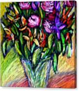 Joels Roses 1 Canvas Print