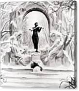 Johann Strauss  Canvas Print