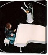 John And Yoko Soul Searching Canvas Print