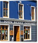 John Benny Canvas Print
