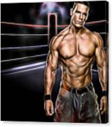 John Cena Wrestling Collection Canvas Print