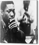 John Coltrane 1926-1967, Master Jazz Canvas Print