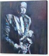 John Coltrane Canvas Print