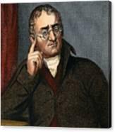 John Dalton - To License For Professional Use Visit Granger.com Canvas Print