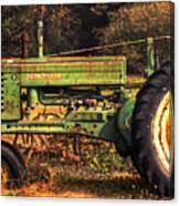 John Deere Retired Canvas Print
