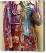 John Entwistle's Tie Died Suede Suit Canvas Print