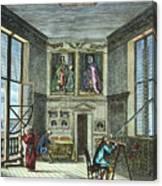 John Flamsteed, C. 1700 Canvas Print