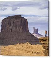 John Ford Point Photographer Canvas Print