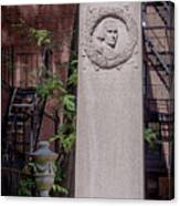 13- John Hancock Monument In Granary Burying Ground Eckfoto Boston Freedom Trail Canvas Print