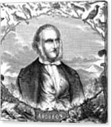 John James Audubon Canvas Print