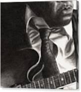 John Lee Hooker Canvas Print