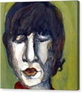 John Lennon As An Elf Canvas Print
