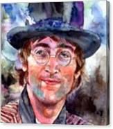 John Lennon Portrait Canvas Print