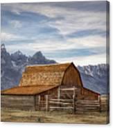 John Moulton Barn Canvas Print