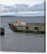 John O'groats Harbour Canvas Print