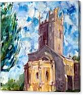 John Piper's Jewel - Sunningwell Church Canvas Print