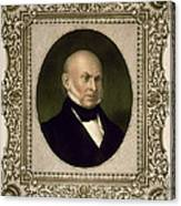 John Quincy Adams, 6th U.s. President Canvas Print