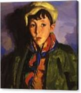 Johnnie Patton 1924 Canvas Print