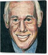 Johnny Carson Canvas Print