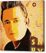 Johnny Cash Poster  Canvas Print
