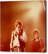 Johnny Rotten and Steve Jones Canvas Print