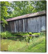 Johnson's Mill/salt Creek Covered Bridge  Canvas Print