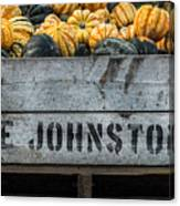 Johnston Fruit Farms Canvas Print
