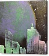Joker City Canvas Print
