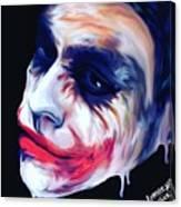 Joke's On You Canvas Print