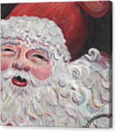 Jolly Santa Canvas Print