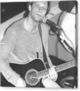 Jon Bon Jovi Acoustic Canvas Print