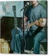 Jon Short-have Blues Will Travel Canvas Print