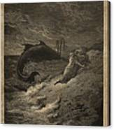 Jonah And The Whale Canvas Print