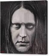Jonas P Renkse Musician From Katatonia Band By Julia Art Canvas Print
